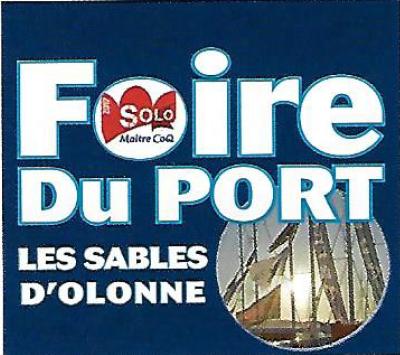Présent sur la foire du port aux Sables d'Olonne du 21 au 24 avril 2017 (stand 150-151)