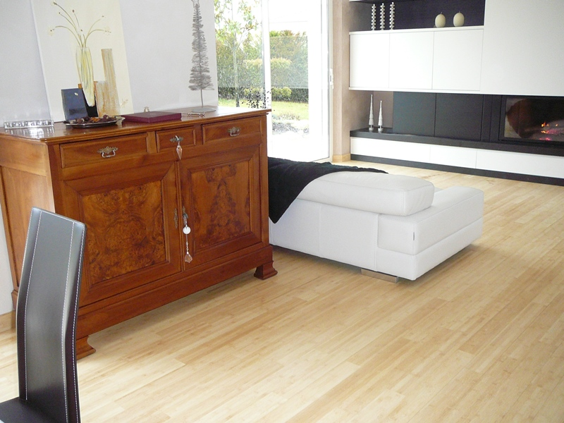 parquet bambou naturel