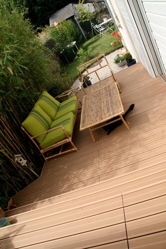 Aménagement terrasse composite