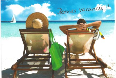 Nous vous souhaitons d'agréables vacances.