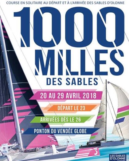 """Cette année la foire du port des Sables d'Olonne aura lieu du 20 au 23 avril. """"En parallèle avec les 1000 milles des Sables"""""""
