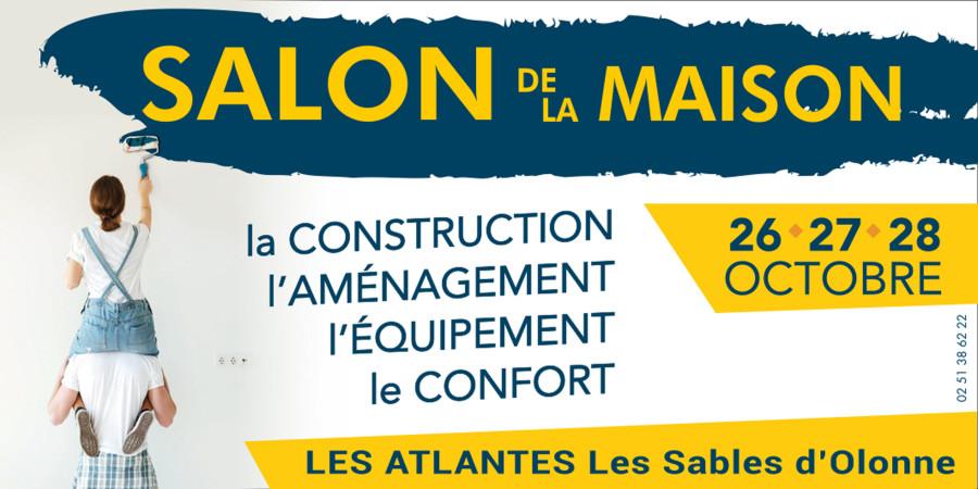 Présent au salon de la maison aux  Atlantes LES SABLES D OLONNE du 26 au 28 octobre ( stand n°21).