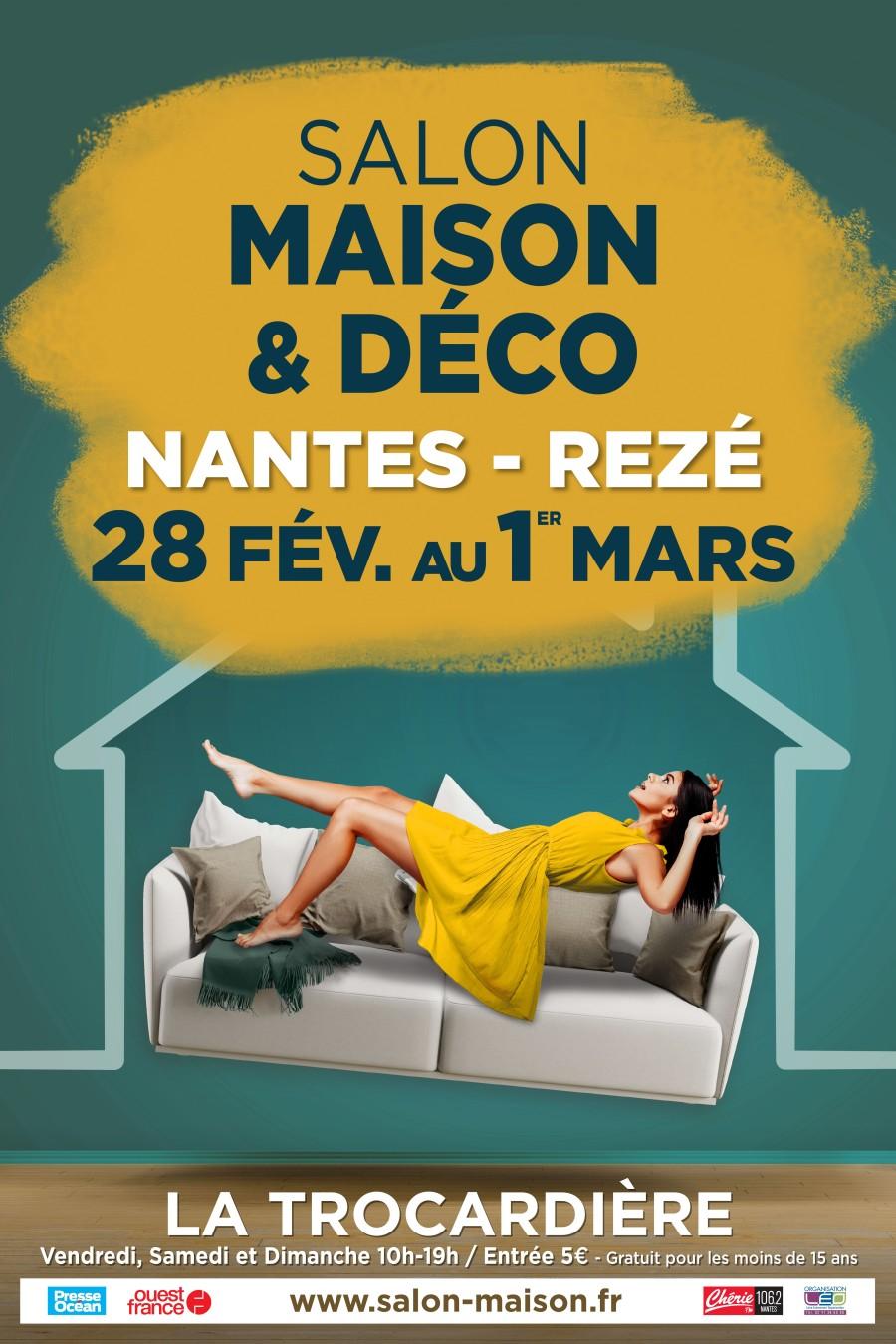 Nouveau en ce début d'année 2020! présence au salon Maison & Déco du 28 fév. au 1er mars Nantes Rezé La Trocardière
